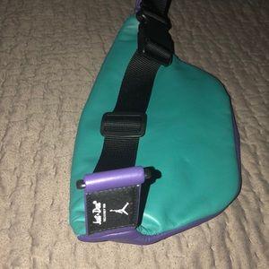 992e0538f807 Jordan Bags - Air Jordan just don leather fanny pack waist bag